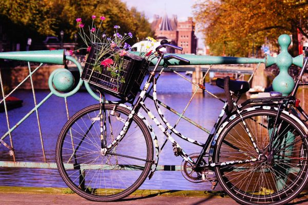 Virágokkal óvják a hidakat Amszterdamban!